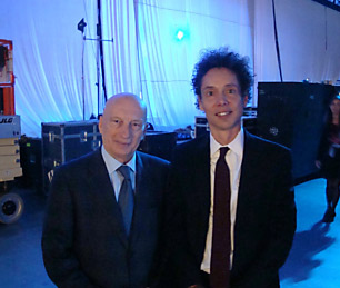 Pecce with Malcom Gladwell, influential author and columnist, is one of the most culturally stimulating and modern American writers &bull; World Business Forum, New York 2011.<span><br /></span>